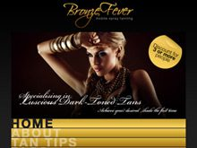 responsive website design testimonial bronze fever