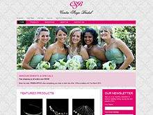 Bridal Website Design Reviews - Centre Stage Bridal