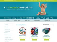 ecom website design testimonial children clothing