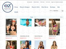 ecommerce website testimonial for oz bikini