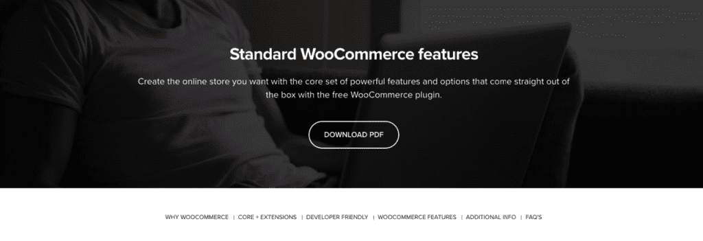 WooCommerce – Features