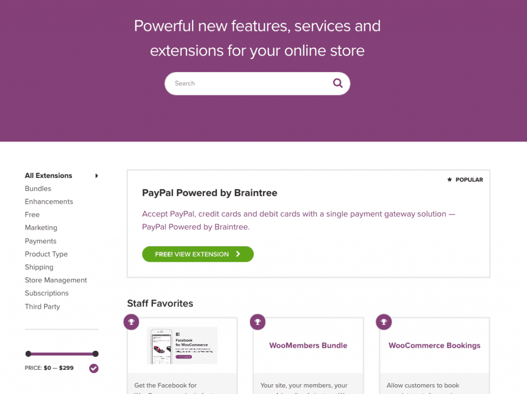 WooCommerce – Add-Ons & Extensions