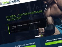 Testochecker e-commerce website