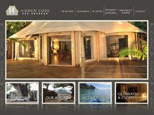 Static Website Design NSW | Hidden Cove Retreat